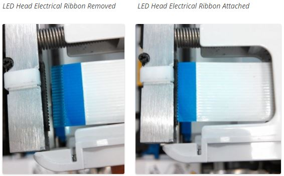 LED electrical ribbon total