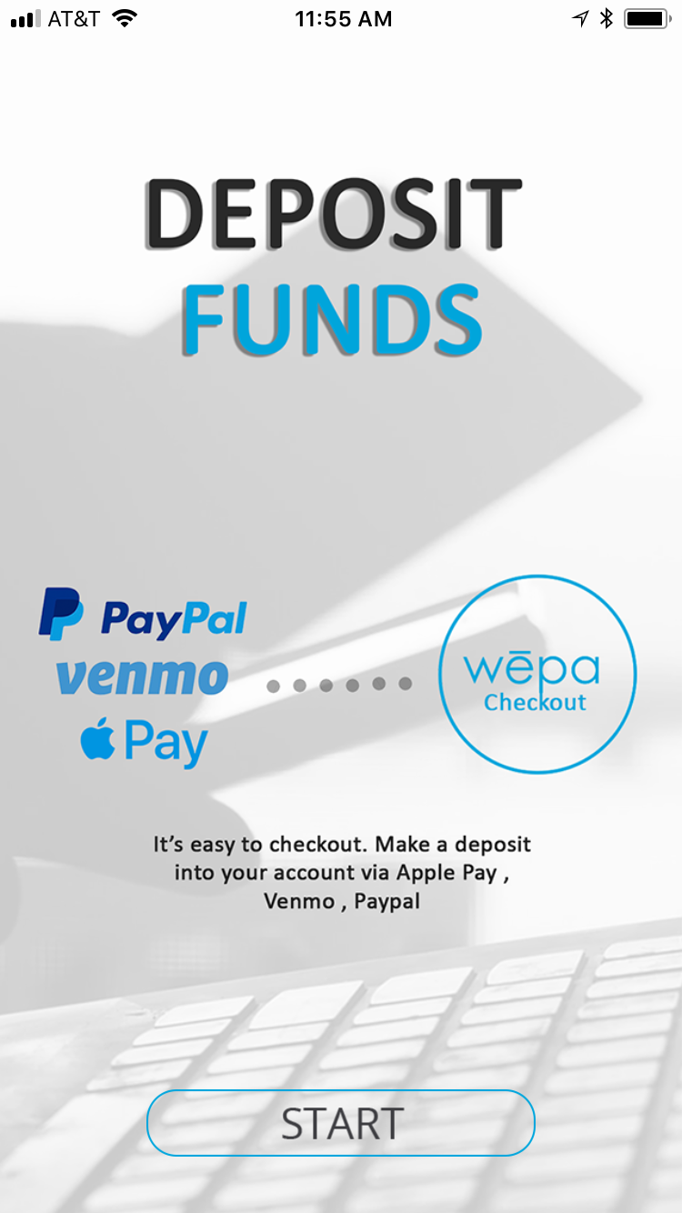 Deposit Funds with Mobile Apps | wepa Support